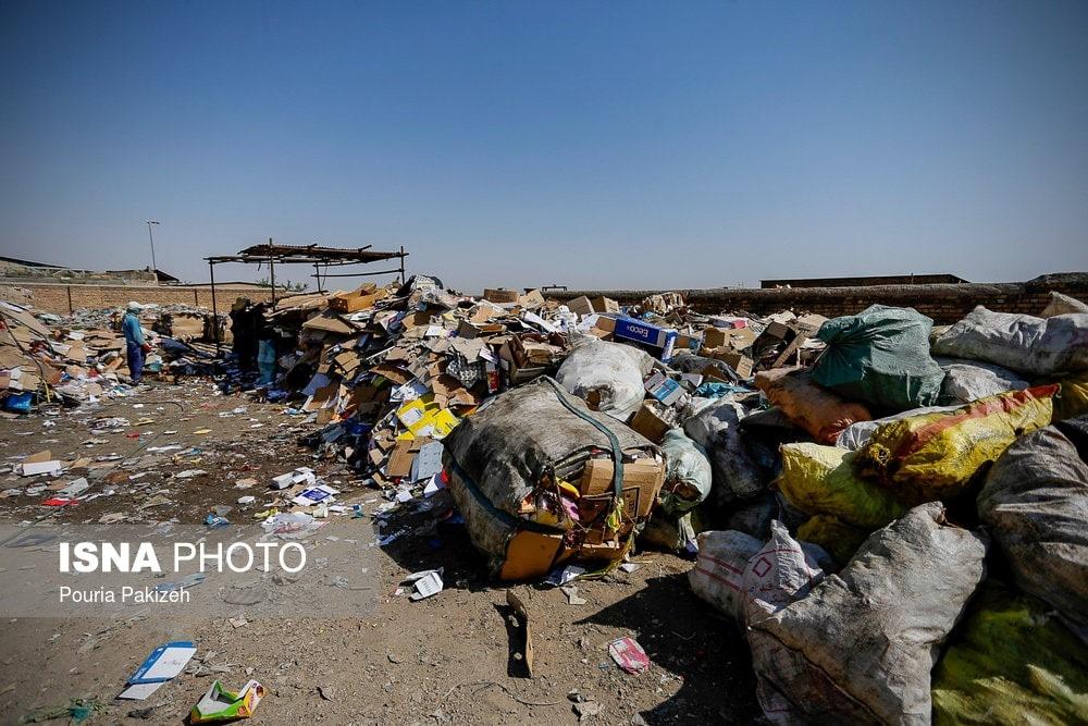 پسماند های پلاستیکی وارداتی به ایران