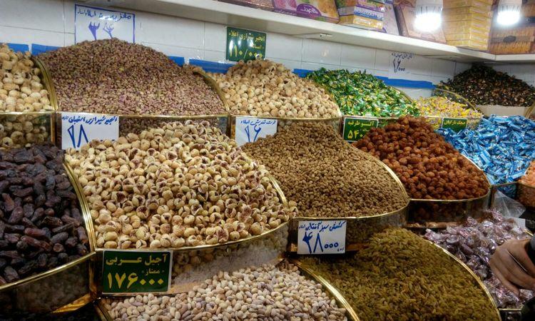 واردات خشکبار به ایران